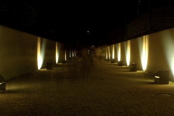 妙楽寺の園廊